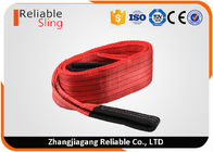 Polyester Flat Double Eye Webbing Sling Color Code Lifting Sling EN 1492-1 Standard