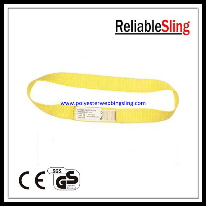 Endless Polyester Flat Webbing Sling Double Ply Weight Lifting Belt