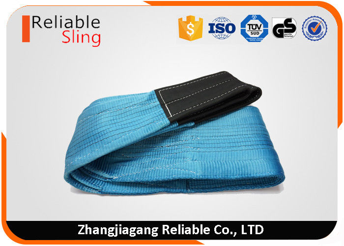 European Standard High Tenacity Heavy Duty Double Eye Duplex Flat Crane Lifting Belt